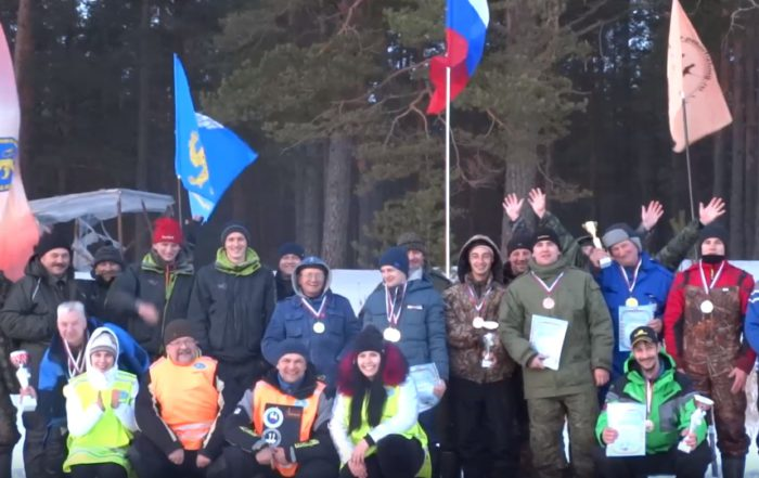 Чемпионат Пскова по ловле на мармышку со льда 2019